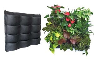 lightweight vertical garden
