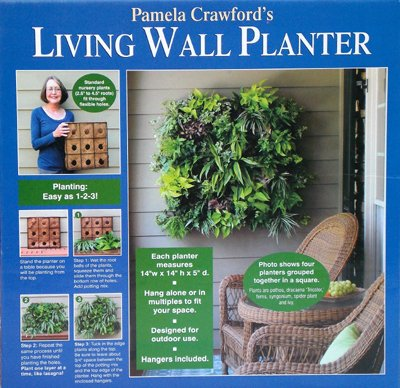 living wall section