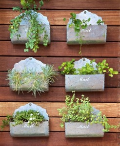 Vertical Garden Pot Vertical garden containers mailboxes mailbox vertical garden workwithnaturefo
