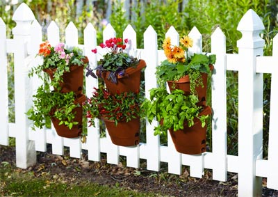 Genial Fiskaru0027s Vertical Planter Kit On Fence