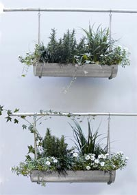 West Elm Hanging Planters