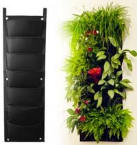 Vertical Pocket Planter