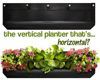 The Vertical Planter that's Horizontal?
