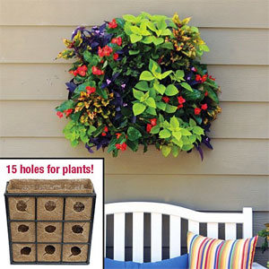 Easy Living Wall Kit with 9 pockets