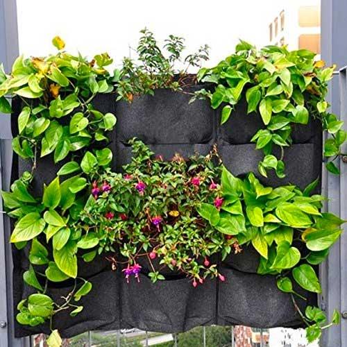 12-Pocket Hanging Vertical Garden