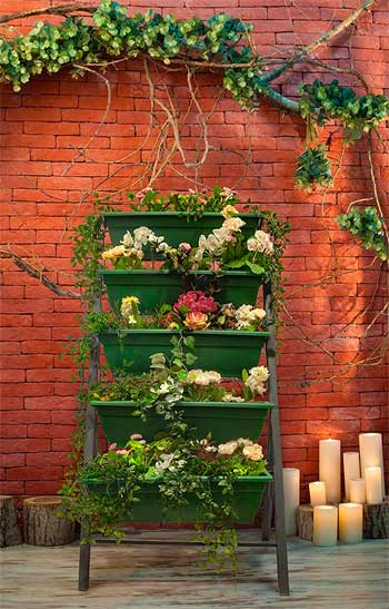 Freestanding Vertical Garden How To Grow Plants Create Privacy